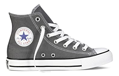 Image Unavailable. Image not available for. Color  Converse CHUCK TAYLOR  ALL STAR OX Unisex Charcoal Gray Canvas Sneaker Shoes 772e14450