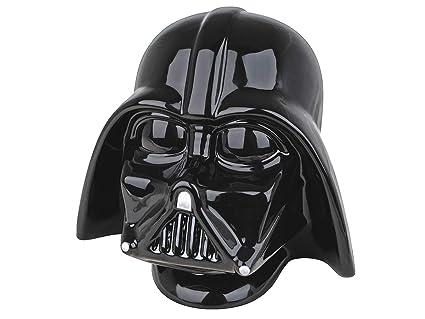GLOW - Hucha de cerámica con diseño de Darth Vader 3D – Producto oficial de Disney