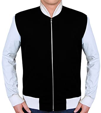 53c9ce7ea740 RLW Ansel Elgort Baby Driver Jacket In Black at Amazon Men s ...