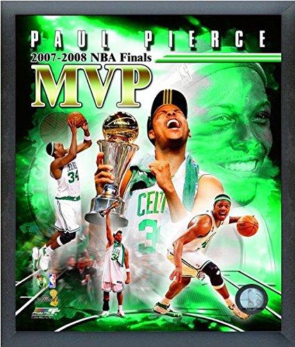 ポールピアースボストンセルティックス2007 – 08 MVP NBA合成写真(サイズ: 12 cm x 15 cm )フレーム   B016YW3MAW