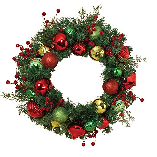 com christmas top and wreaths selected front for door slp decorated decor products artificial amazon reviews