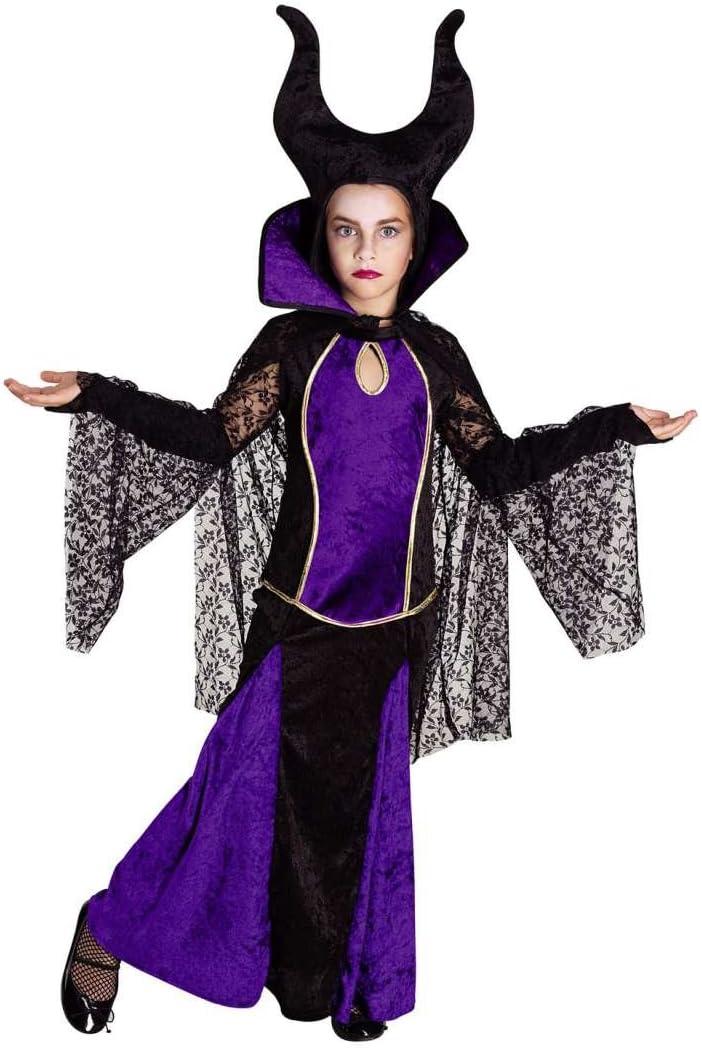 chiber Disfraces Disfraz de Maléfica para Niña (Talla 10): Amazon ...
