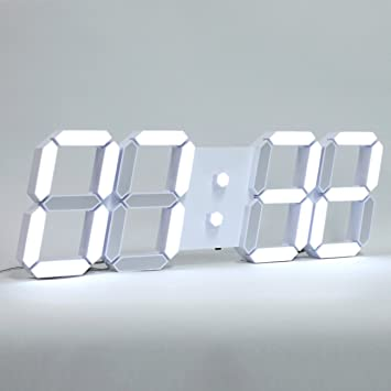 9113417b146b ROIRETNI INTERIOR Reloj de Pared Digital Inteligente LED con termómetro