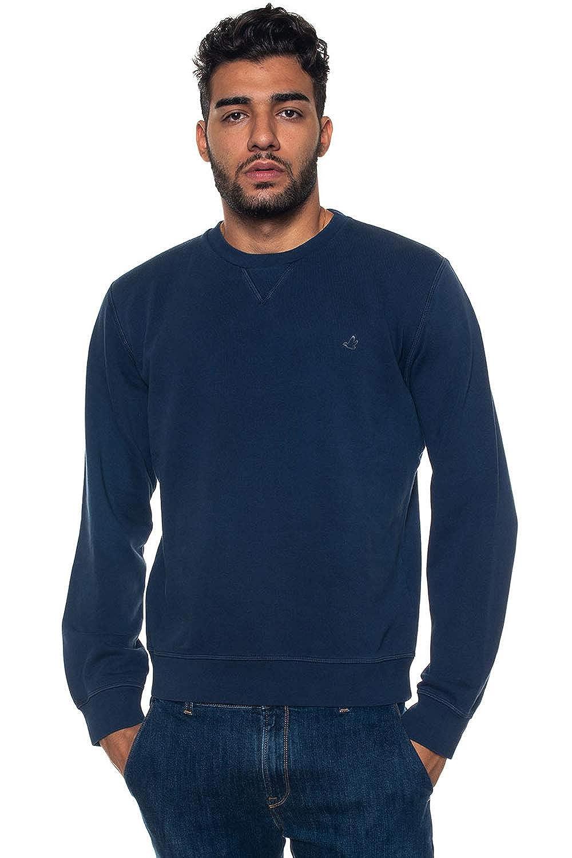 Brooksfield Herren Sweatshirt Blau blau