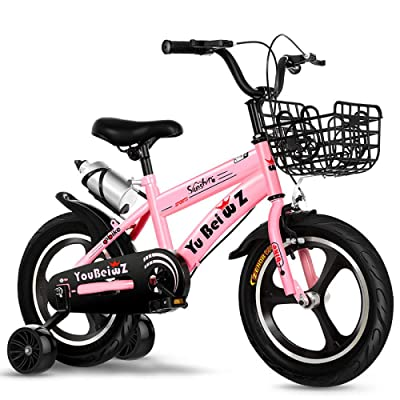 LINGS Foldable Bicycle Kids' Bikes 14 inch Fashion Sport Children Bike Safety Exercise: Home & Kitchen