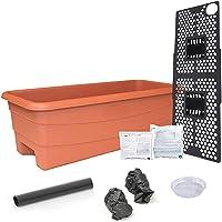 EarthBox 80605.01 Junior Garden Kit, Standard, Terracotta