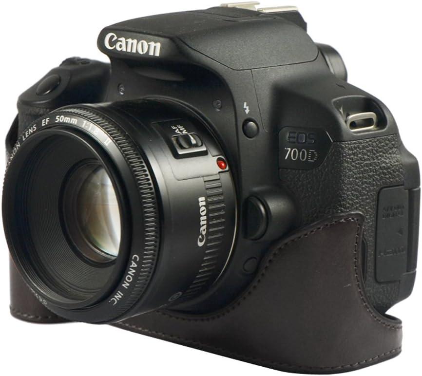 ceari Carcasa Mitad Inferior Soporte para Cámara Canon EOS 700d ...
