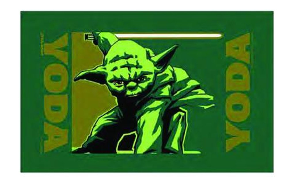 Star Wars Yoda Fan Golf Towel   B06VWD5MRN