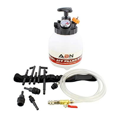 ABN Manual ATF Filler System – 3L Manual Transmission Fluid Pump Tool for Automatic Transmission with System Adapters: Automotive