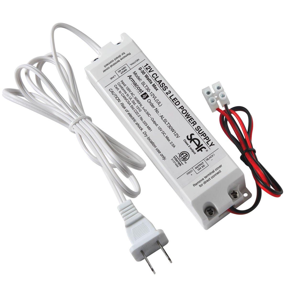 Armacost Lighting 810301 30W 12V Dc Led Lighting Power Supply