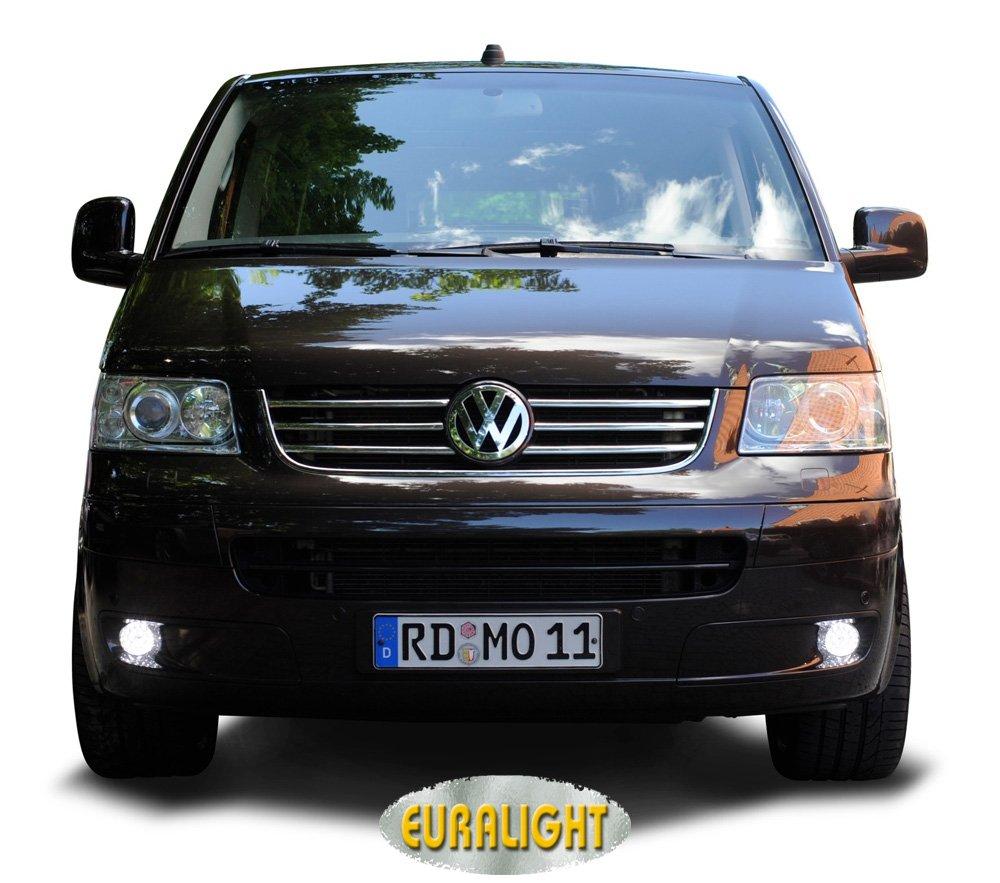 T/ÜV Eintragungsfrei. Fahrzeugspezifisches LED-Tagfahrlicht-Set - Mit Dimmfunktion inkl 2003-2009 ECE /& RL Pr/üfzeichen