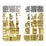 Sutemribor 420PCS M2 M3 M4 Male Female Hex Brass