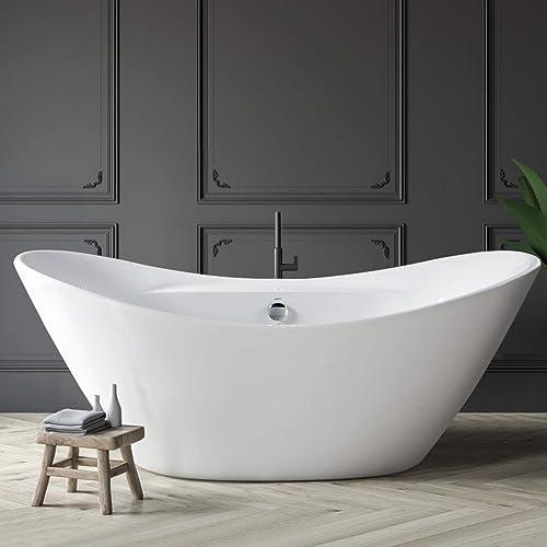 FerdY Boracay 67″ Acrylic Freestanding Bathtub