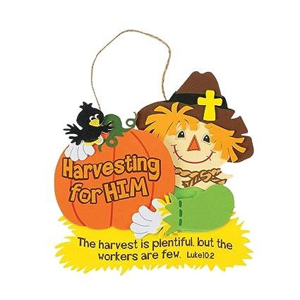 Amazon Com Harvest Inspirations Bible Verse Sign Craft Kit Sunday