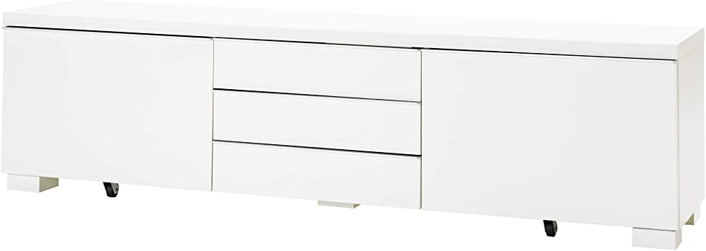 Amazoncom Ikea Bestå Burs Tv Unit High Gloss White