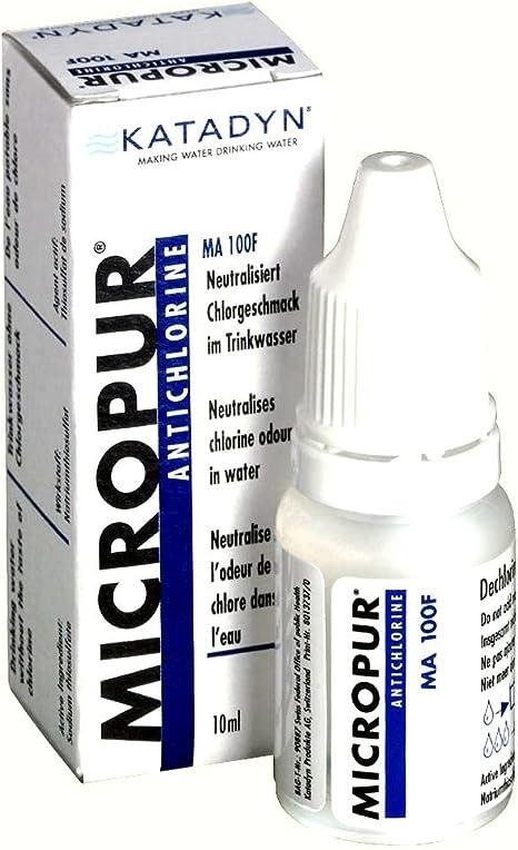 Katadyn Micropur Antichlorine MA 100F - Purificador de Agua ...