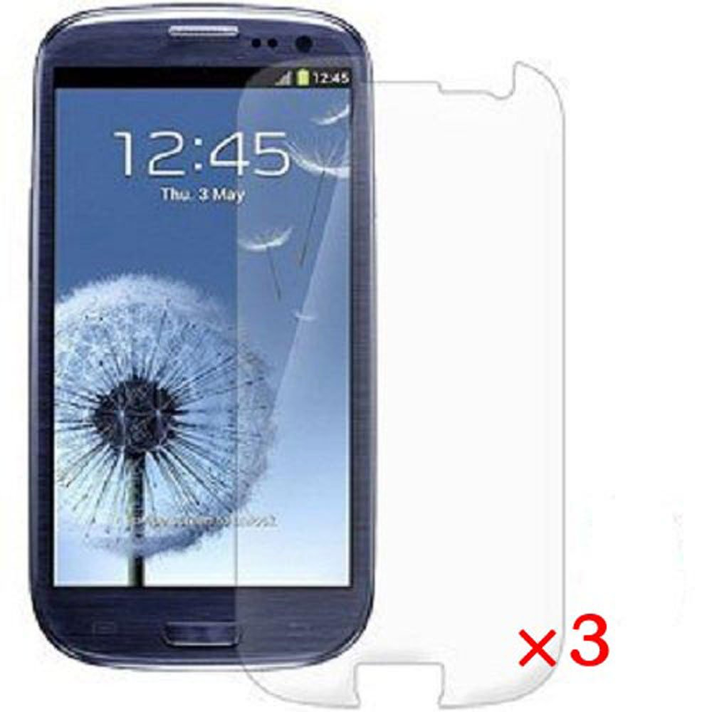 Lcd screen protector guard for samsung galaxy s3 i9300 galaxy s iii - Amazon Com Generic Clear Screen Protector For Samsung Galaxy S3 S Iii At T T Mobile Sprint Verizon I9300 3 Pack Cell Phones Accessories