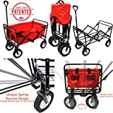 WonderFold Outdoor Small Folding Wagon / Utility Cart