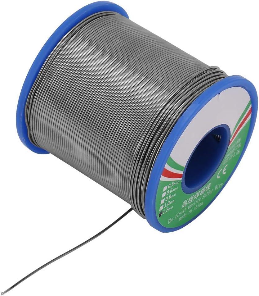 Fil de soudure d/étain fer /électrique 1.0//1.2mm 40/% Bobine de soudure de petit pain de fil de soudure d/étain pour les produits /électroniques 1,2 mm