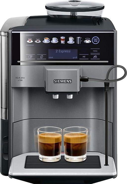 Siemens EQ.6 plus TE651509DE - Cafetera (Independiente, Máquina ...