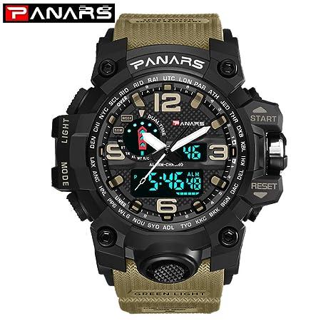 waotier Hombres Reloj Deportivo Multi Function Mens Electronic ...