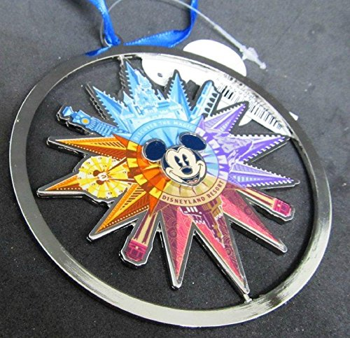 Disneyland California Adventure DCA Metal Spin Ornament Mickey's Fun ()