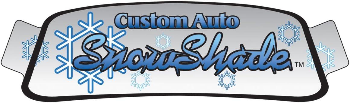 Silver w//o Sensor Intro-Tech TT-08-S Custom Fit Windshield Snow Shade for Select Toyota Highlander Models