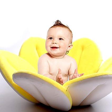 Asiento de bañera, asiento de flor de loto suave, asiento de baño ...