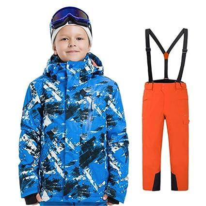 Amazon.com: Conjunto de traje de nieve para snowboard, ropa ...