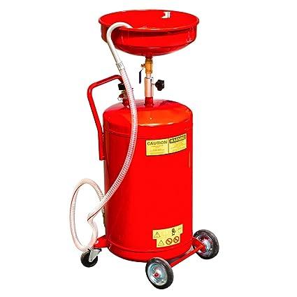 Amazon com : Youzee Best 20 Gallon Waste Oil Drain Tank Air
