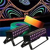 Solena Max Bar 60 UV 60-Watt LED Black Light 2 Pack