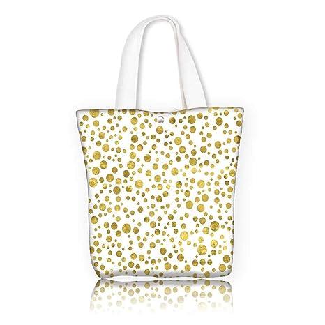 Amazon.com  Stylish Canvas Zippered Tote Bag -W12 x H14 x D4.7 INCH ... 2f812bcb87a5d