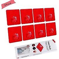 Laimew Ganchos adhesivos para Estante sin perforación 15
