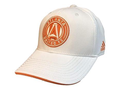 50ee8864c9c5d Amazon.com   adidas Atlanta United FC White Structured Adjustable ...