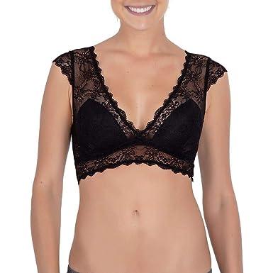 3b5c846b4 Sutiã Top Renda Suzana  Amazon.com.br  Amazon Moda