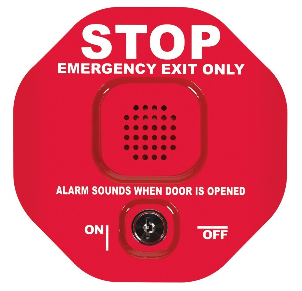 Safety Technology International STI-6400 Exit Stopper Multifunction Door Alarm, Helps Prevent Unauthorized Exits or Entries Through Emergency Doors (2 Pack) by STI (Image #1)