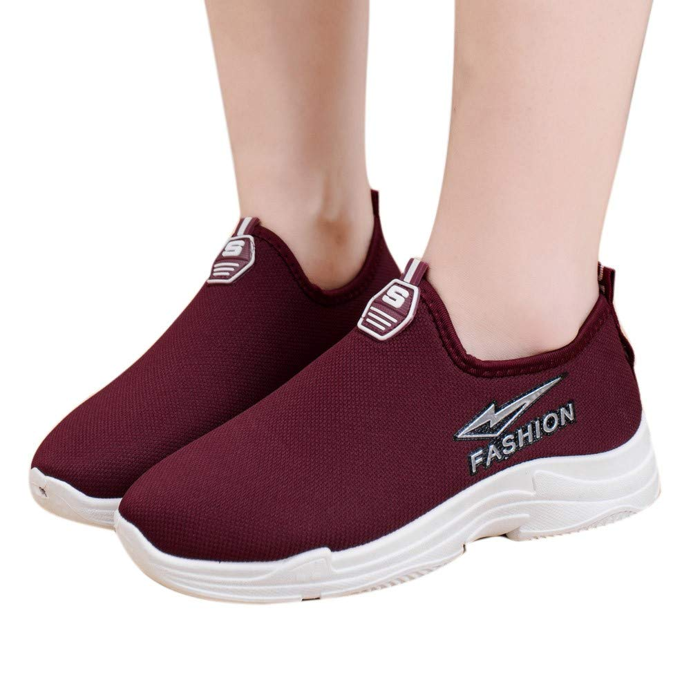 Geetobby New Women Plus Velvet Loafers Warm Flat Shoes Solid Color Slip-On Shoes