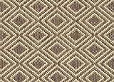 Round 12' Lanai Rattan Custom Cut Economy Indoor Outdoor Carpet Patio Area Rugs