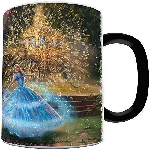 (Thomas Kinkade Cinderella (Wishes Granted) Morphing Mugs Heat-Sensitive)