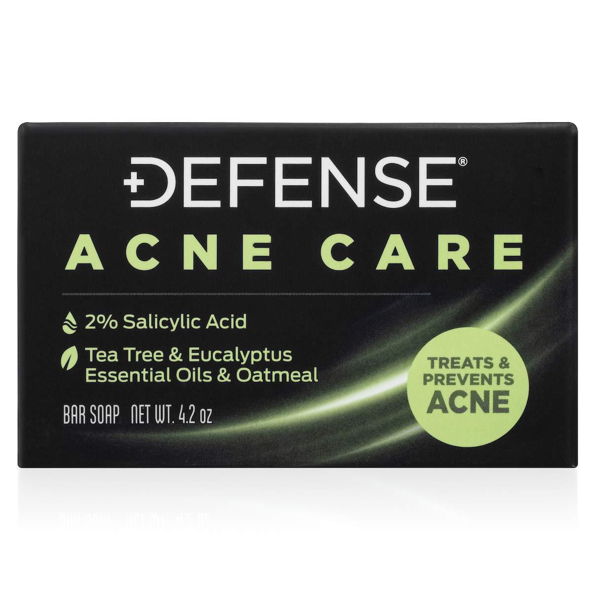 Defense Acne Care Bar Soap 4.2oz : Beauty