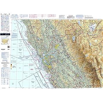 Amazon com: FAA Chart: U S  VFR Wall Planning Chart (Flat) VFRWPC