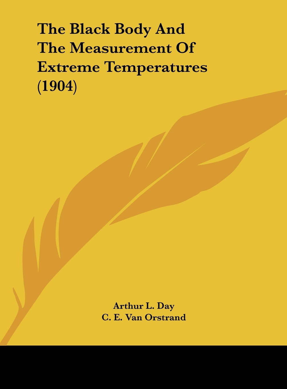 Download The Black Body And The Measurement Of Extreme Temperatures (1904) ebook