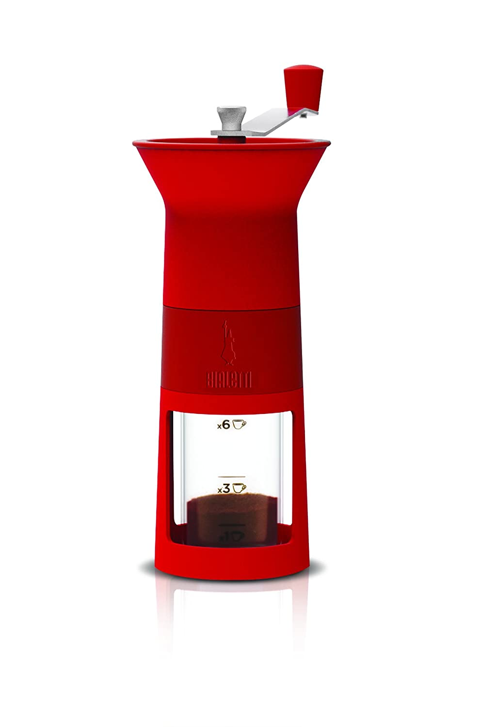 Bialetti - Manual Coffee Grinder - Red DCDESIGN02