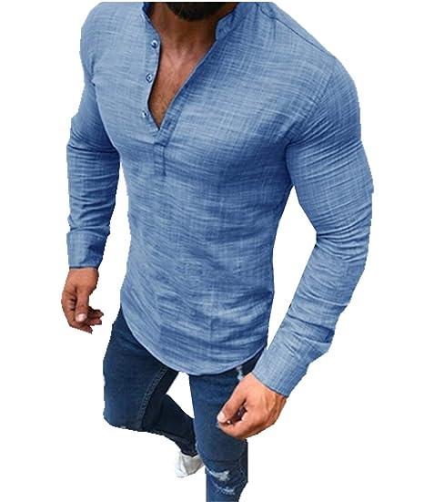 Merish Herren Hemd Kurzarmhemd Sommerhemd Freizeithemd