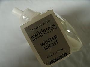 Dpnamron Bath and Body Works Wallflowers Home Fragrance Refill Winter Night- 1 Bulb 0.8 Fl Oz
