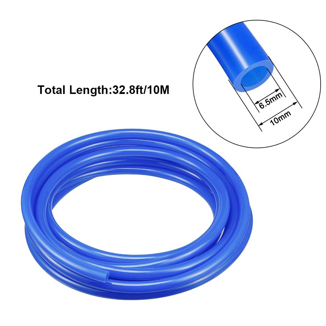 sourcingmap/® 8 mm X 5 mm Fleaxible Pu Tubo Neum/ático Manguera Azul 5M Longitud