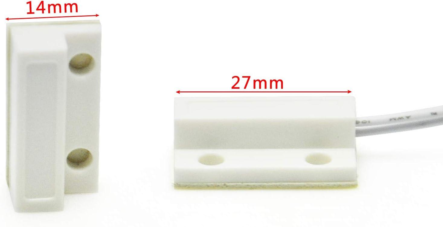 Magnetic sensor door whitearduino diy switch they detector
