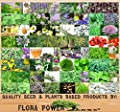 Flora Power by Red Pine Medicinal & Culinary Herb Combo, 32 Types