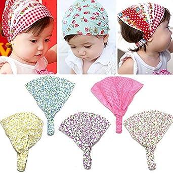 Amazon.com  Baby Girl Kid Newborn Flower Headband Hair Wear ... 25d1eb0ffb3