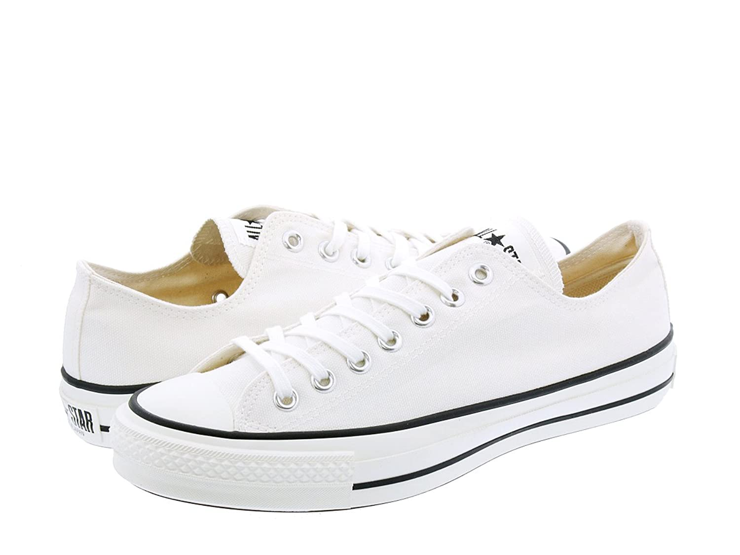2fcda65a5855  コンバース  CANVAS ALL STAR J OX WHITE  MADE IN JAPAN   日本